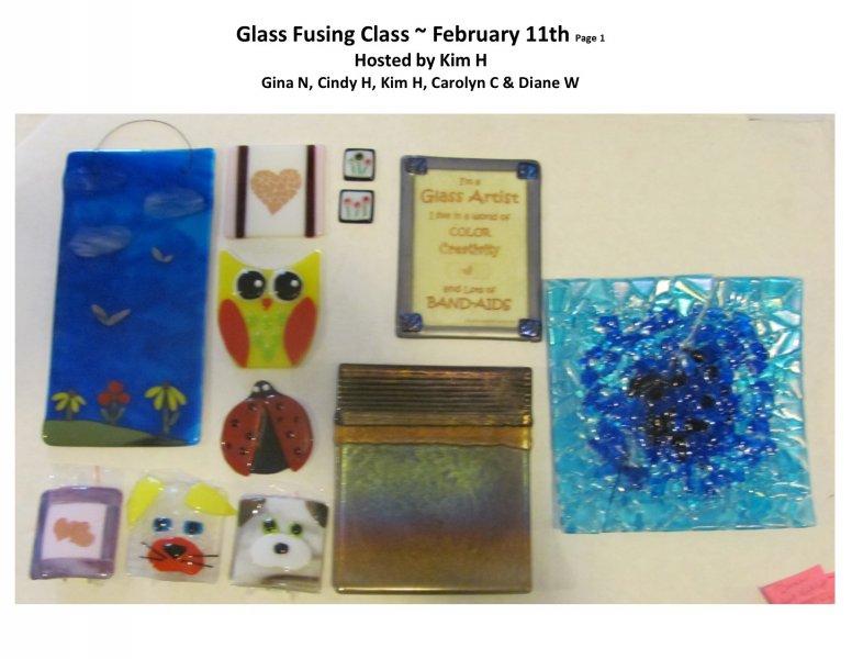 GF class Feb 11th 2016 Host Kim