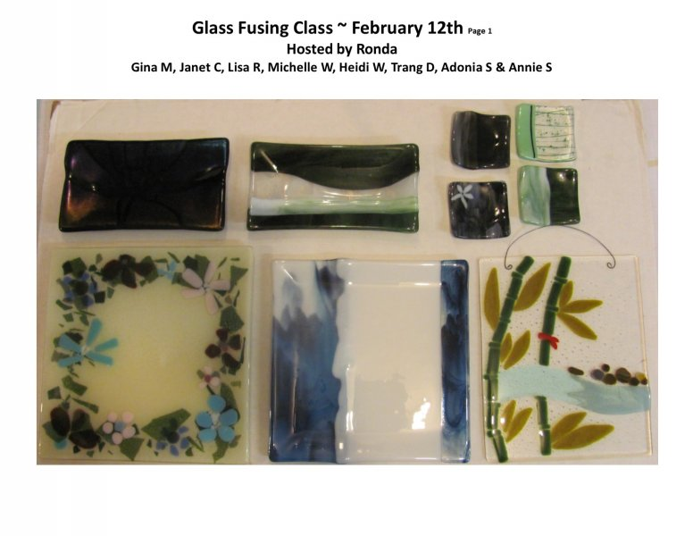 GF class Feb 12th 2016 P 1Host Ronda