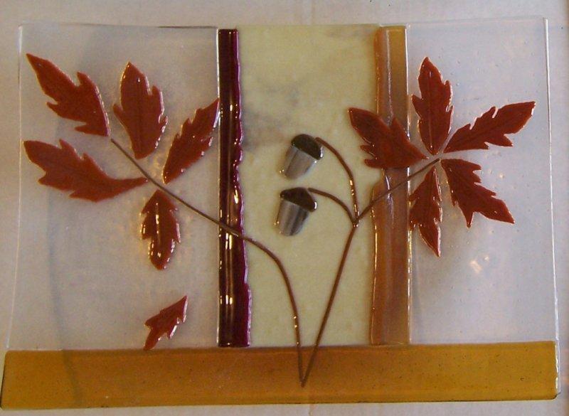 glass Nov Platter