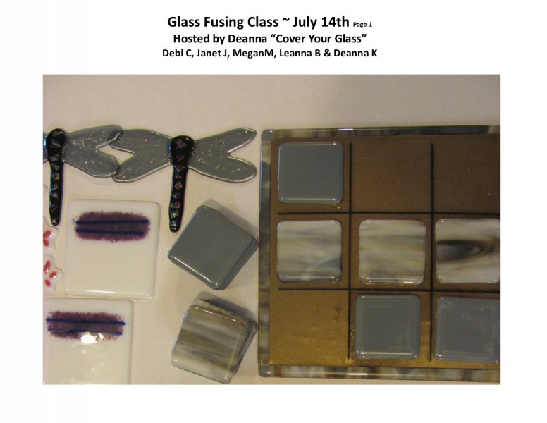 GF class July 14th PM 2016 Hosted by Deanna - Pg 1