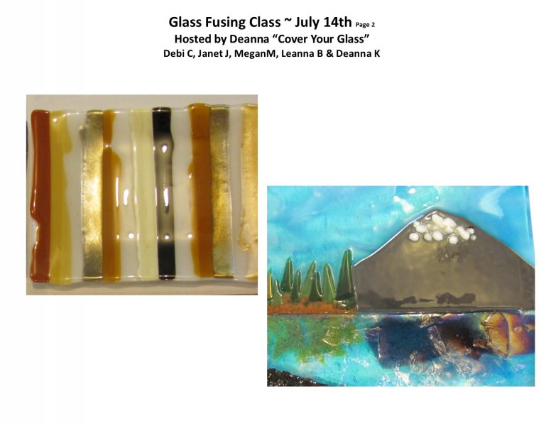 GF class July 14th PM 2016 Hosted by Deanna - Pg 2