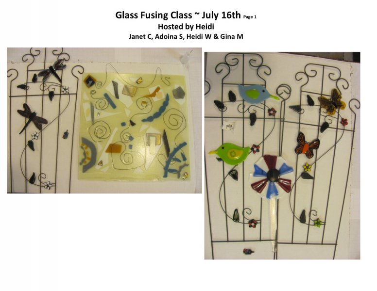 GF class July 16th 2016 Hosted by Heidi