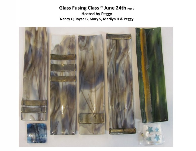 GF class June 24th PM 2016 Hosted by Peggy