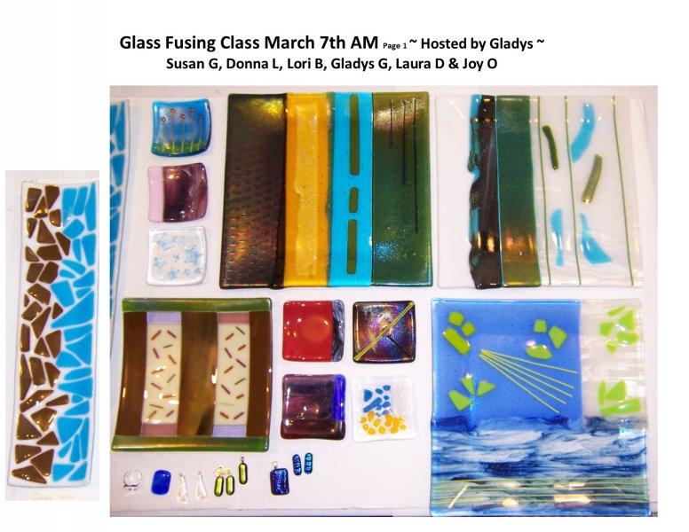 GF class March 7th 2015