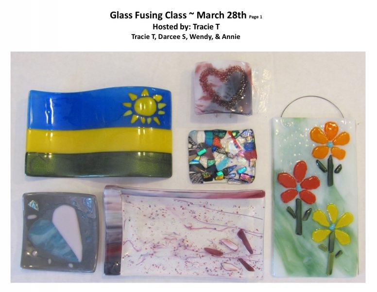 GF class March 28th 2016 Host Tracie